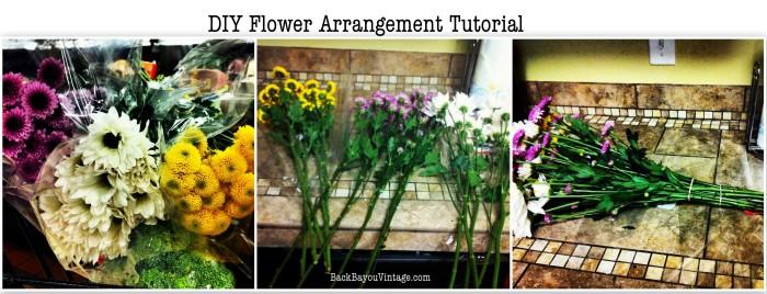 DIY Flower Arrangement Tutorial