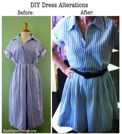 DIY Alterations Before and After