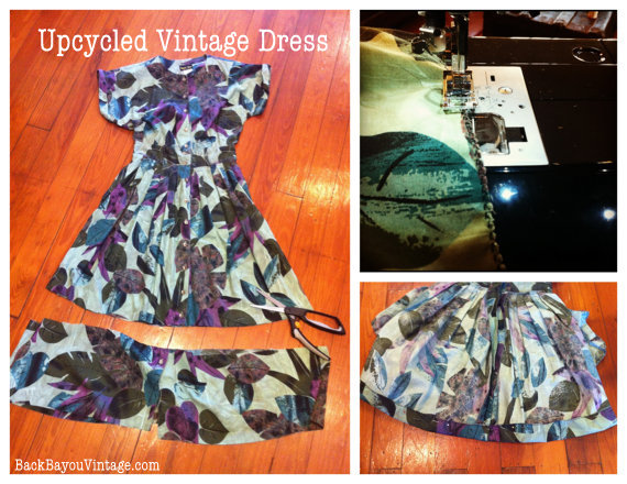 Upcycled Vintage Dress