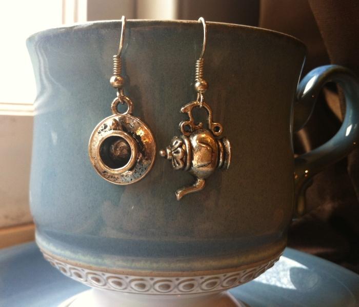 Tea Cup & Kettle Earrings