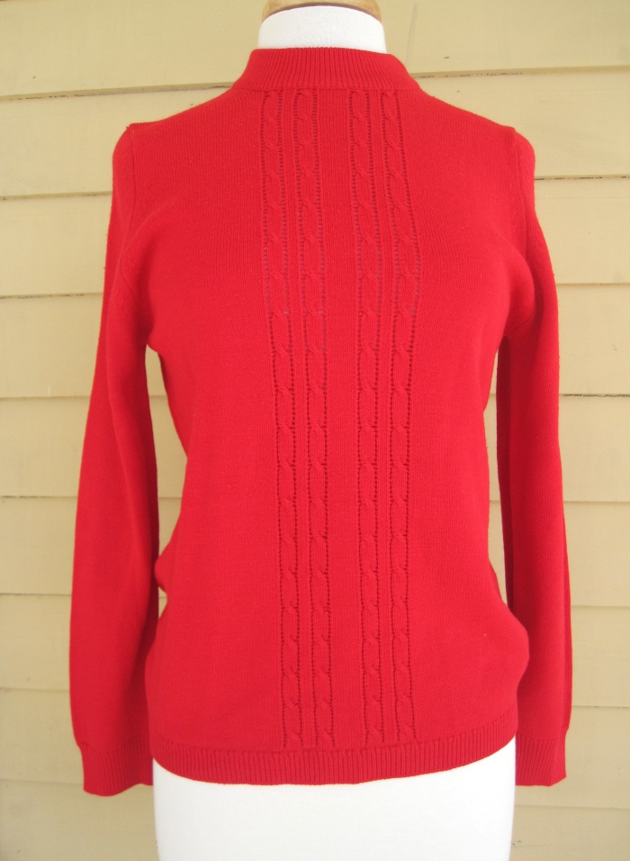 Vintage Red Christmas Sweater $19.60