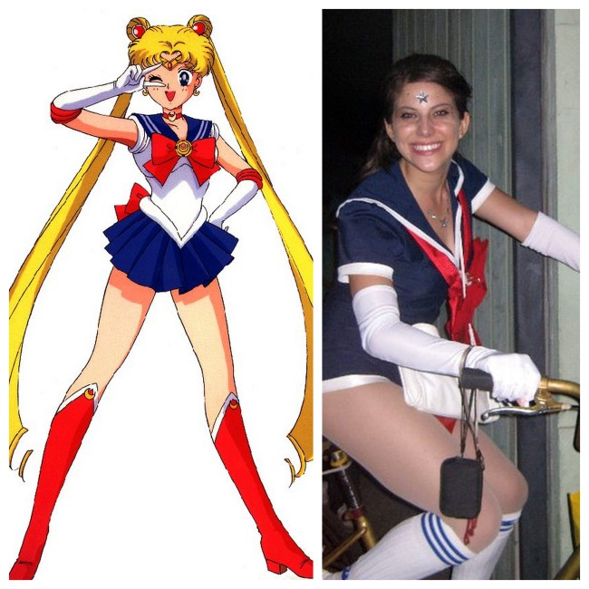 DIY Sailor Moon Costume
