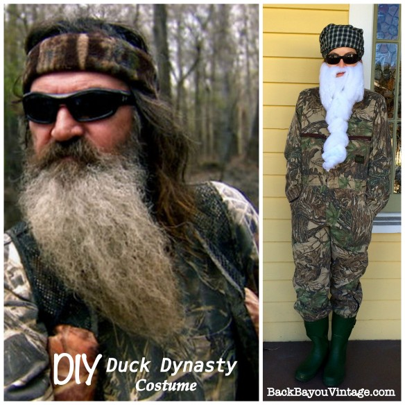 DIY Duck Dynasty Costume
