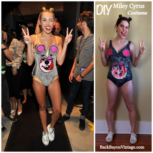 DIY Miley Cyrus Costume
