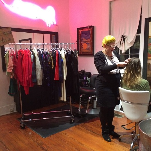 Holiday Trunk Show and Braid Bar