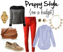 Preppy Style on a Budget