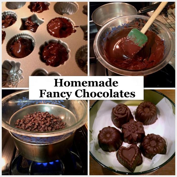 Homemade Fancy Chocolates