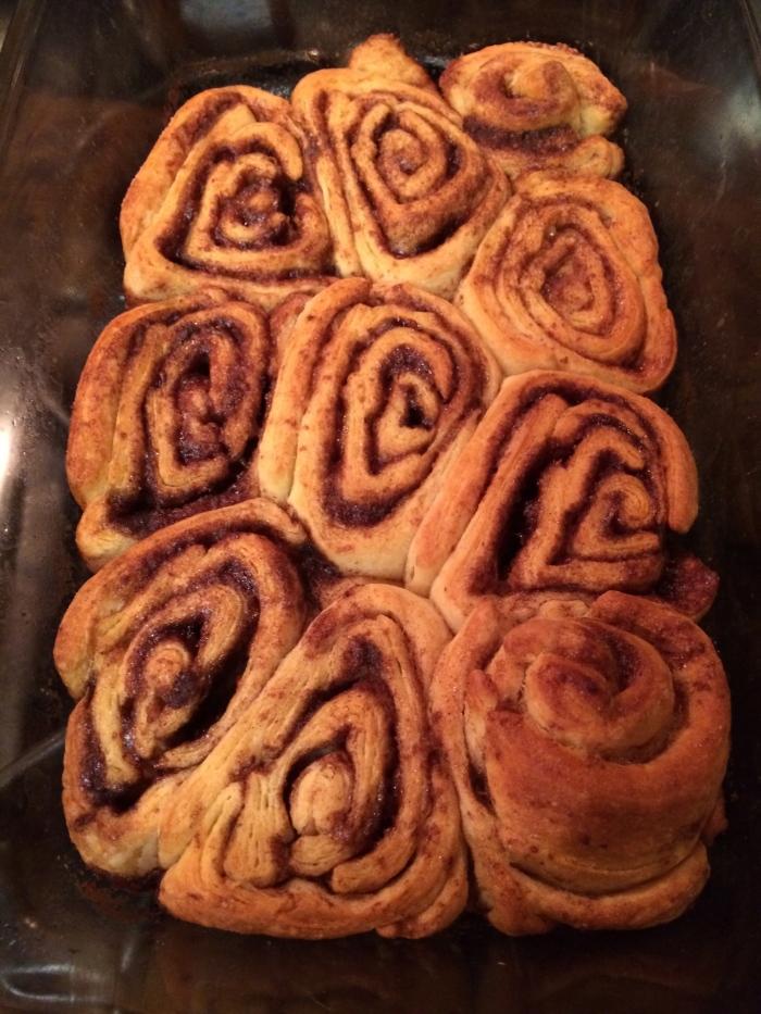 Crescent Roll Cinna-buns