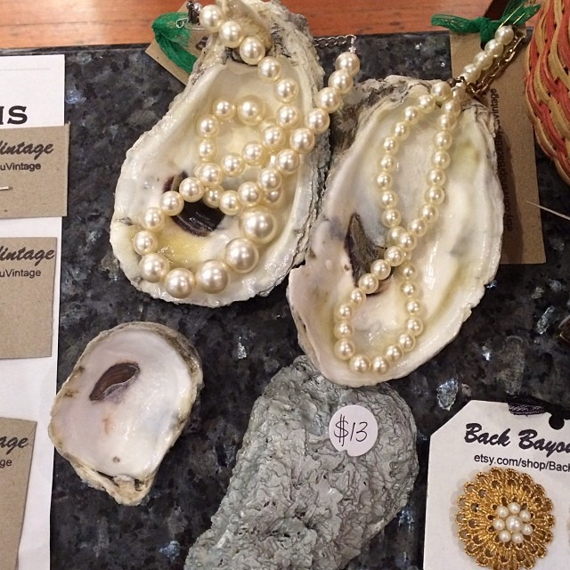 DIY Oyster Shell Jewelry Holder
